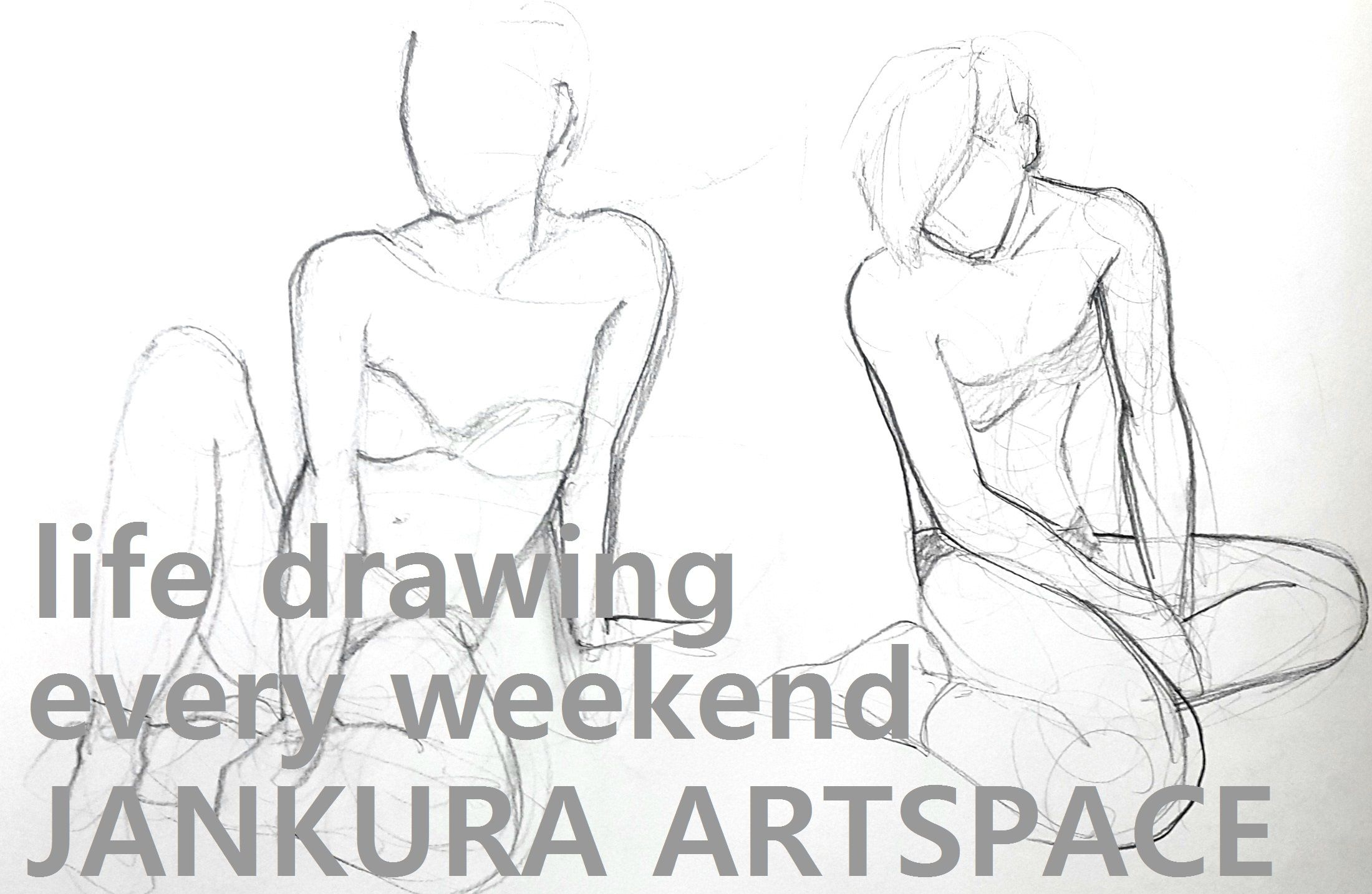 Life Drawing at Jankura Artspace Seoul