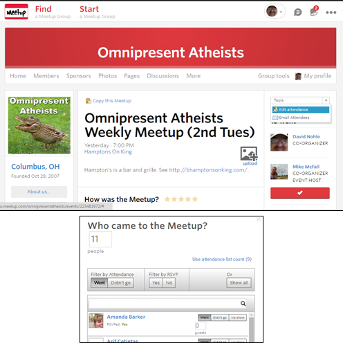 Omnipresent Atheists