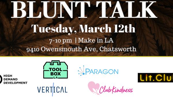 Blunt Talks Chatsworth (Tickets on https://www blunttalks