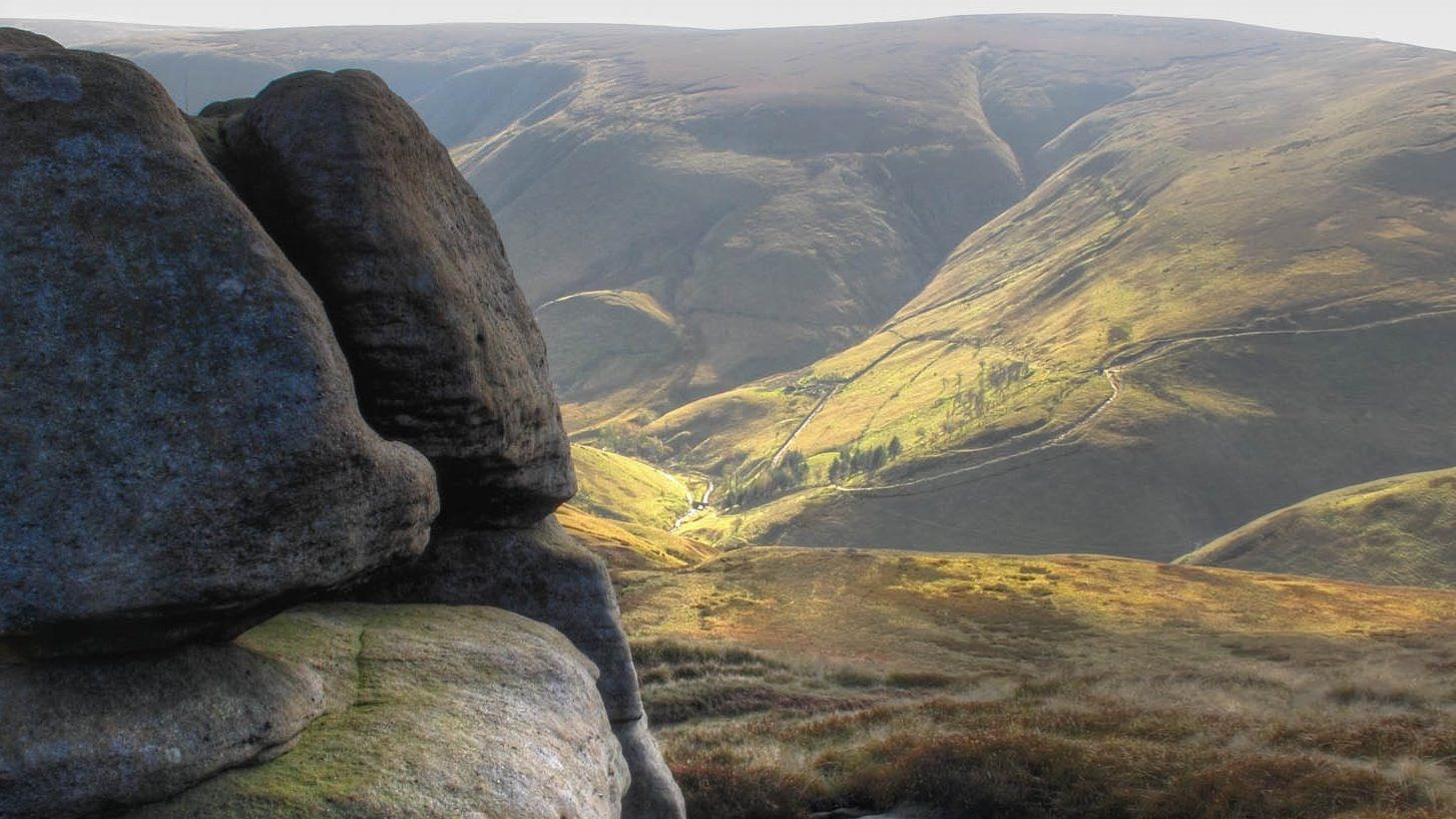 The footsteps of the Kinder trespass and Kinder Reservoir