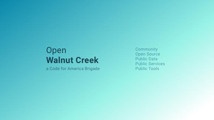 Open Walnut Creek
