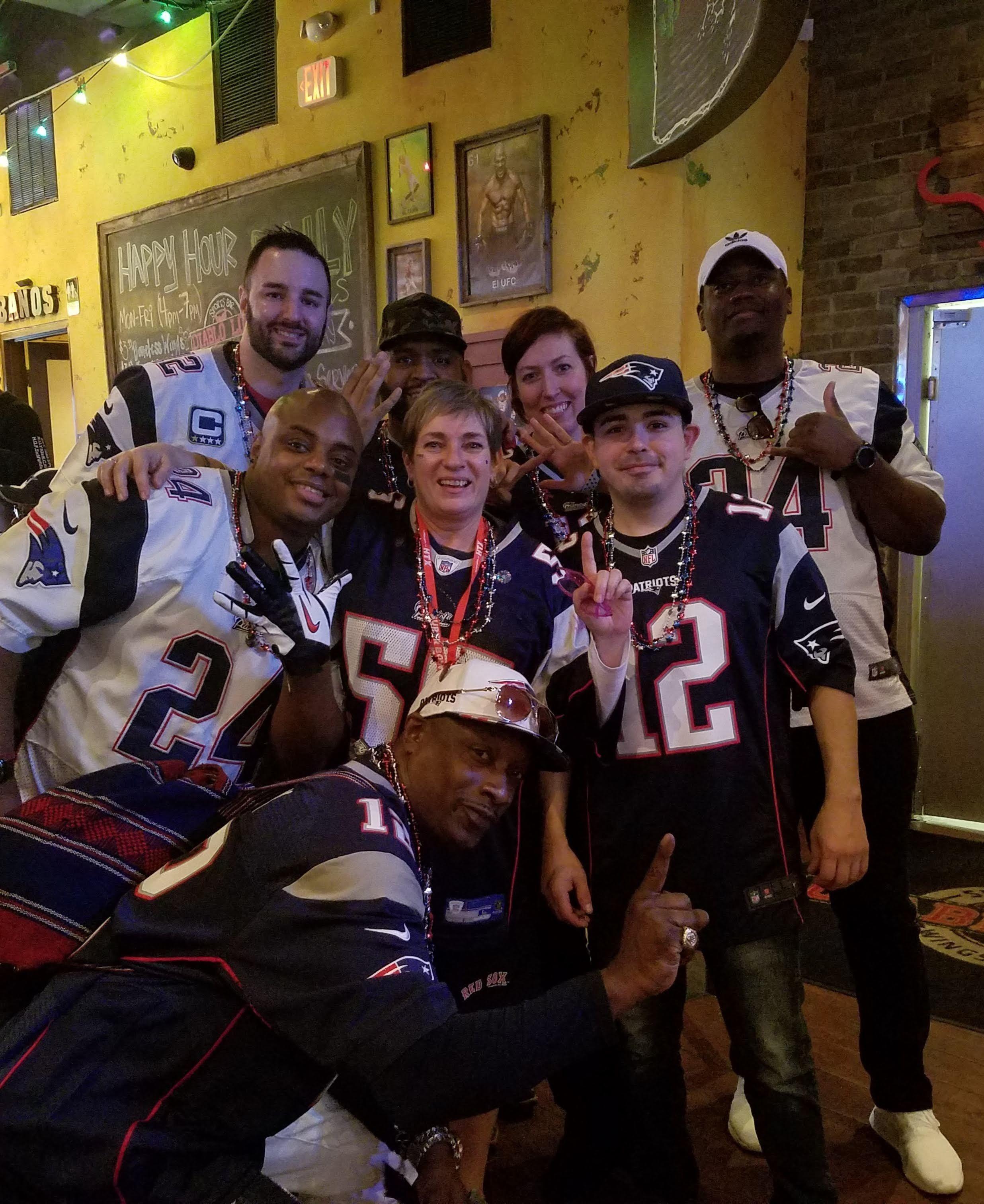 Patriots Fans of Houston Texas