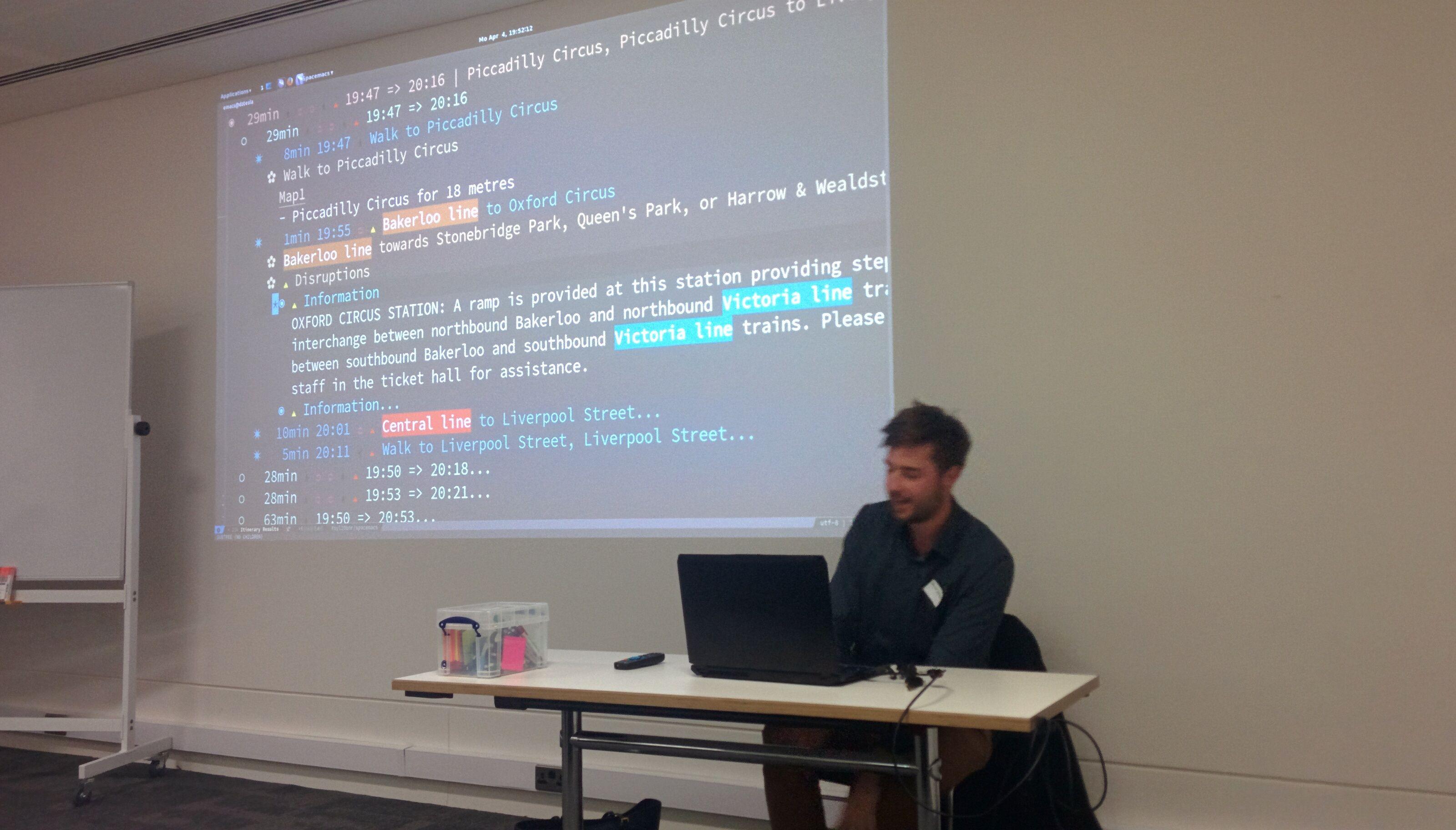 Emacs London