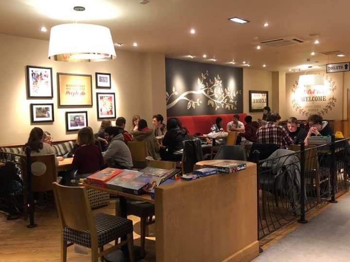 Warwick Games Cafe