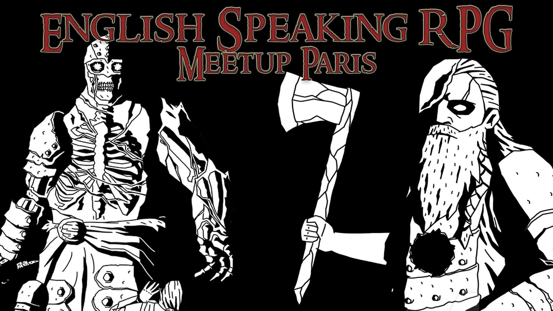 English Speaking RPG Meetup Paris