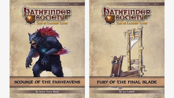 Calendrier Pathfinder.Scourge Of The Farheavens Fury Of The Final Blade Meetup