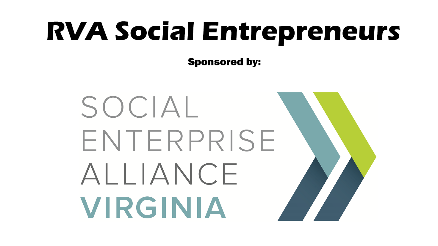RVA Social Entrepreneurs