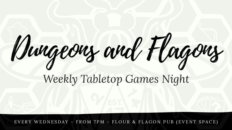 Dungeons Amp Flagons Games Night Meetup