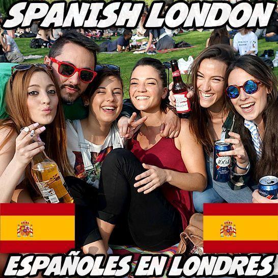 conocer gente espanola en londres