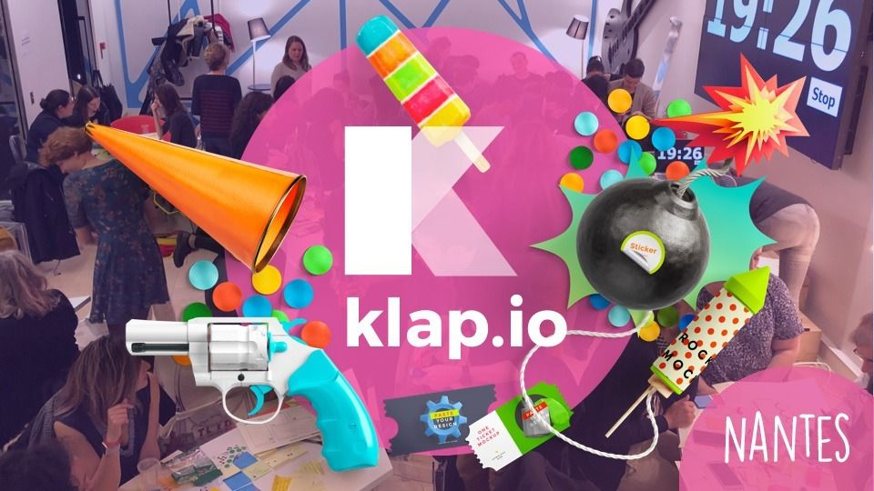 Design Thinking 💥Make it KLAP Nantes 💥