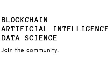 Blockchain NYC - Blockchain | AI | Data Science