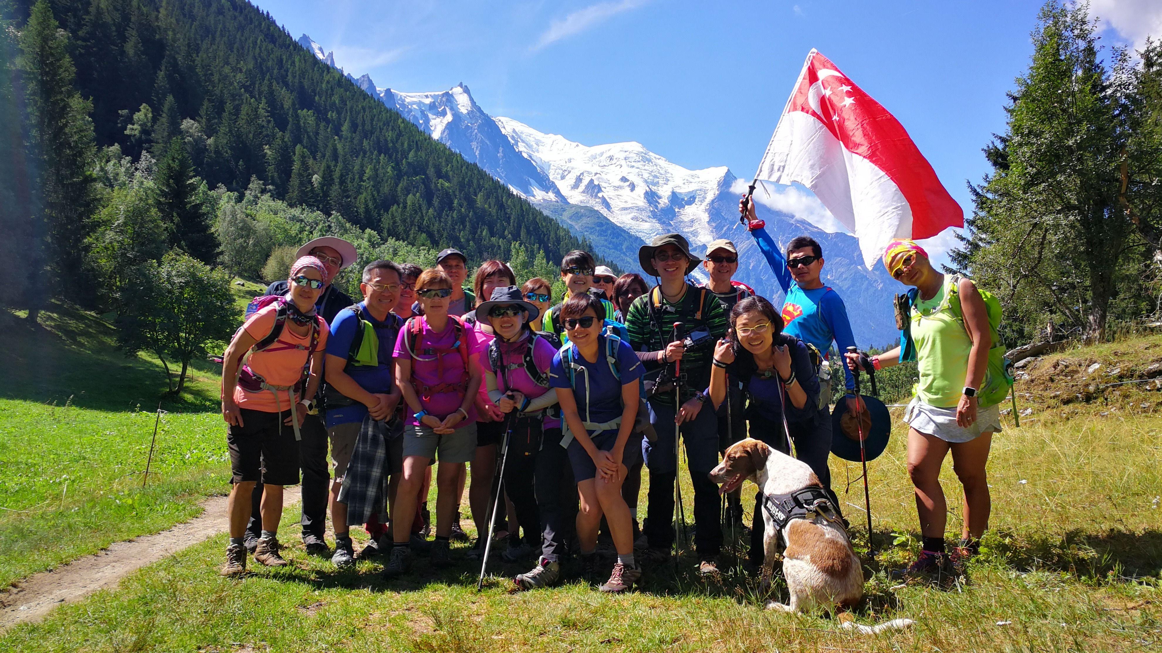 4th Run : Tour du Mont Blanc