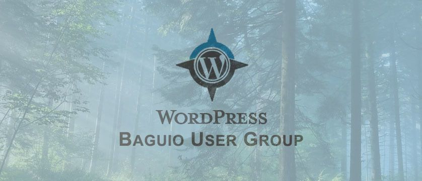 Baguio WordPress Meetup