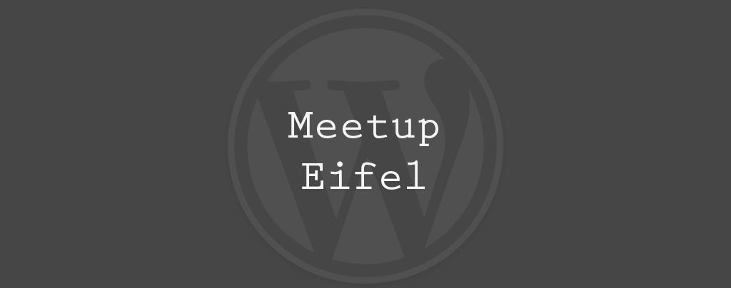 WordPress Meetup Eifel