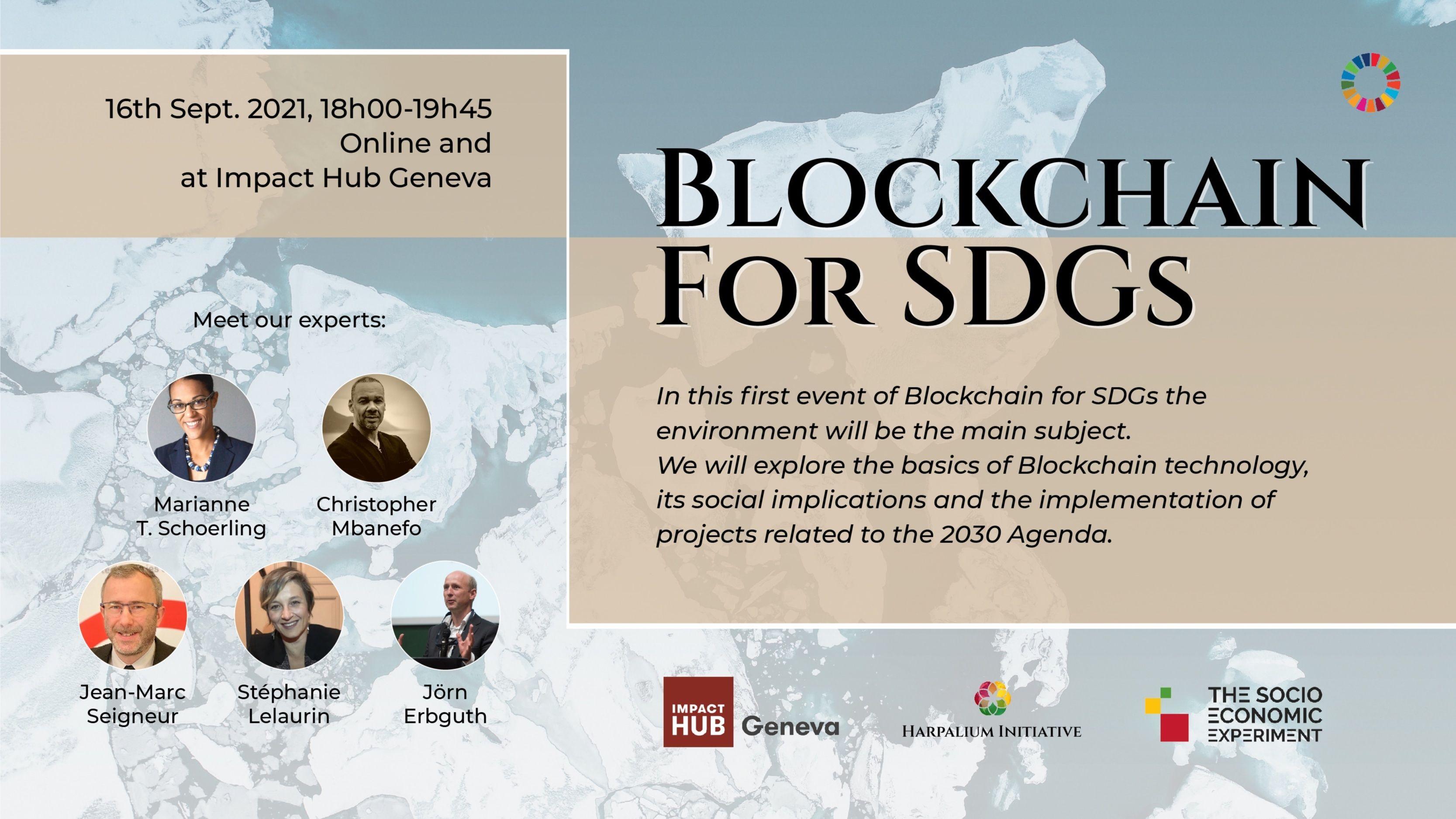 Blockchain for SDGs