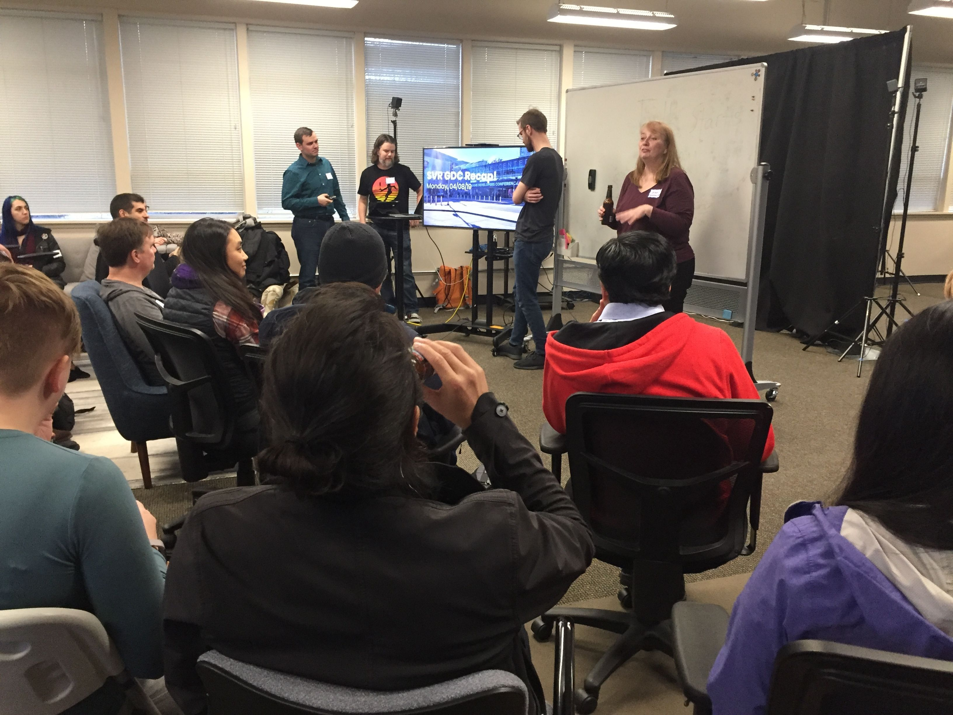Seattle VR + AR:  Panels and Presentations