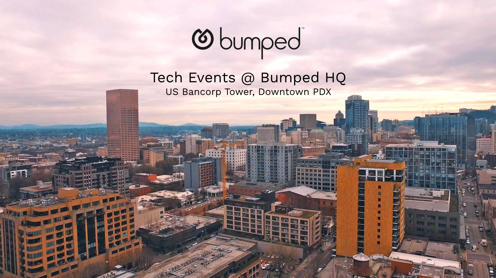Bumped: Tech Events