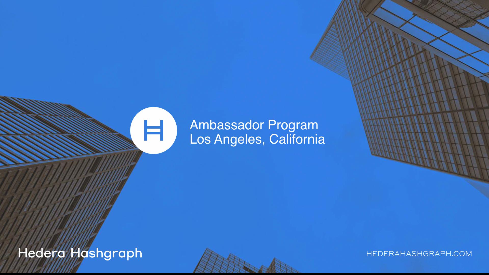 Hedera Hashgraph - Los Angeles California