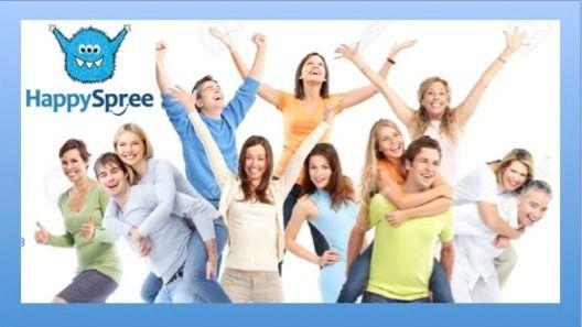 HAPPYSPREE SLC: 😜🎉🙌 FUN HAPPINESS FRIENDSHIP