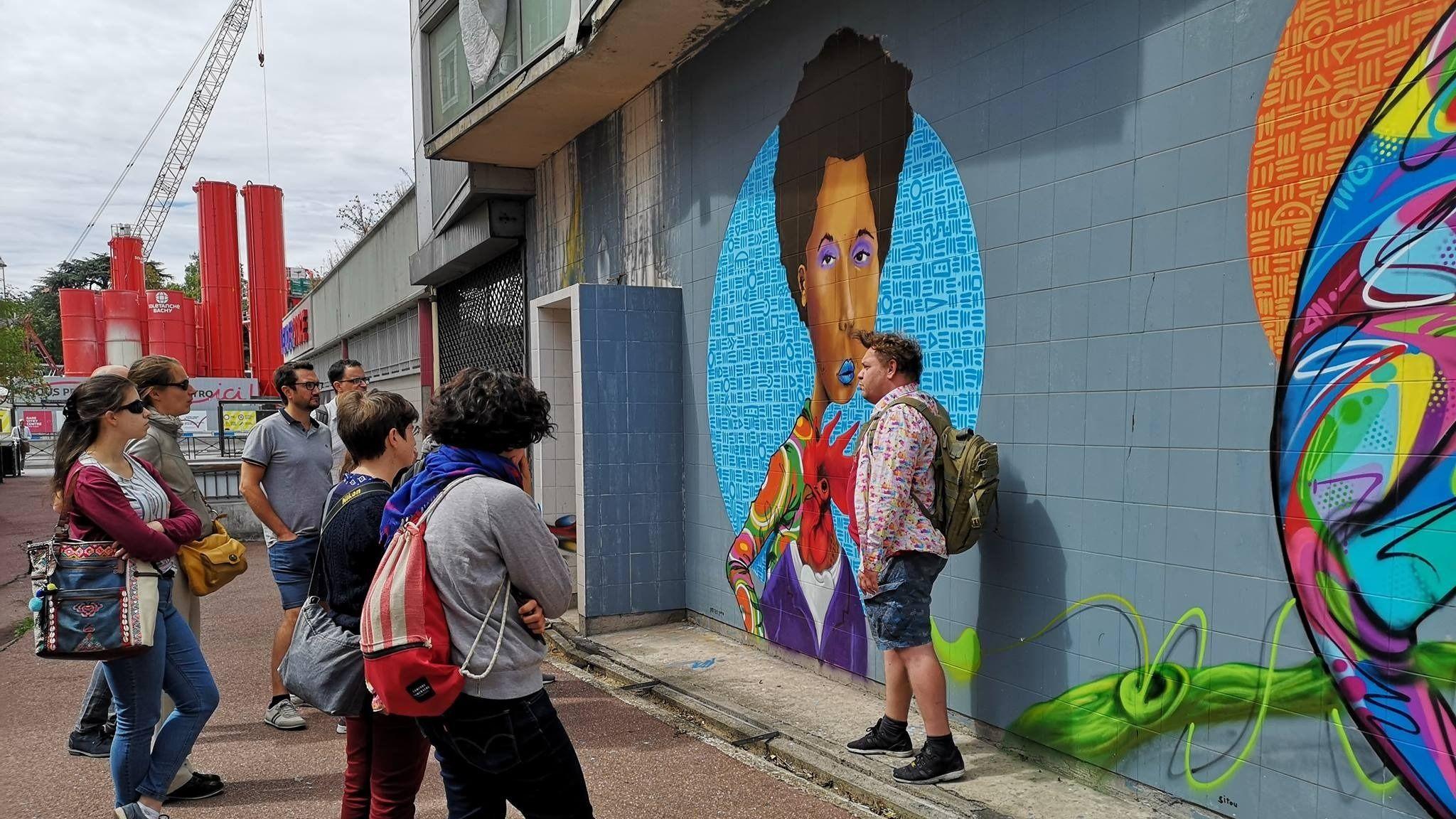 Vitry Sur Seine Street Art Tour