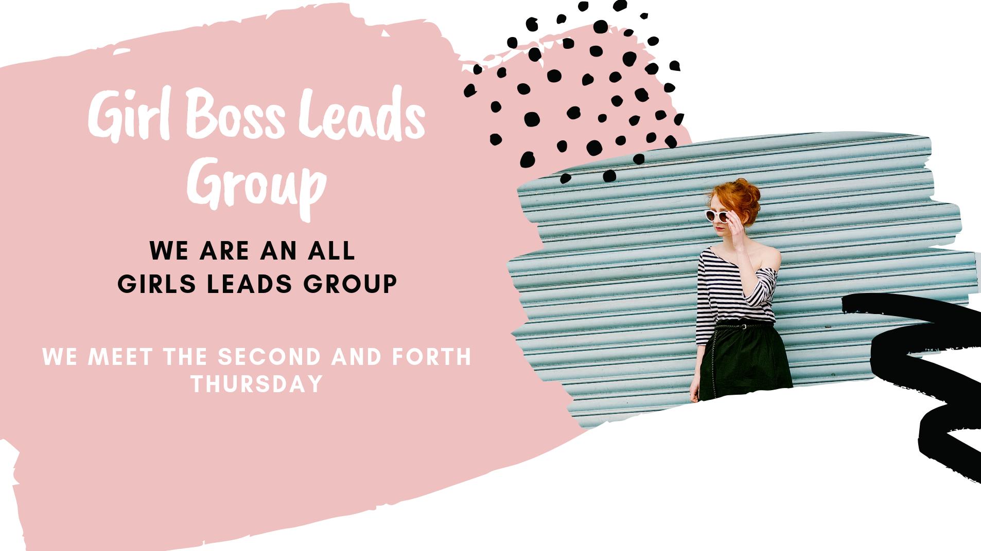 Girl Boss Leads Group