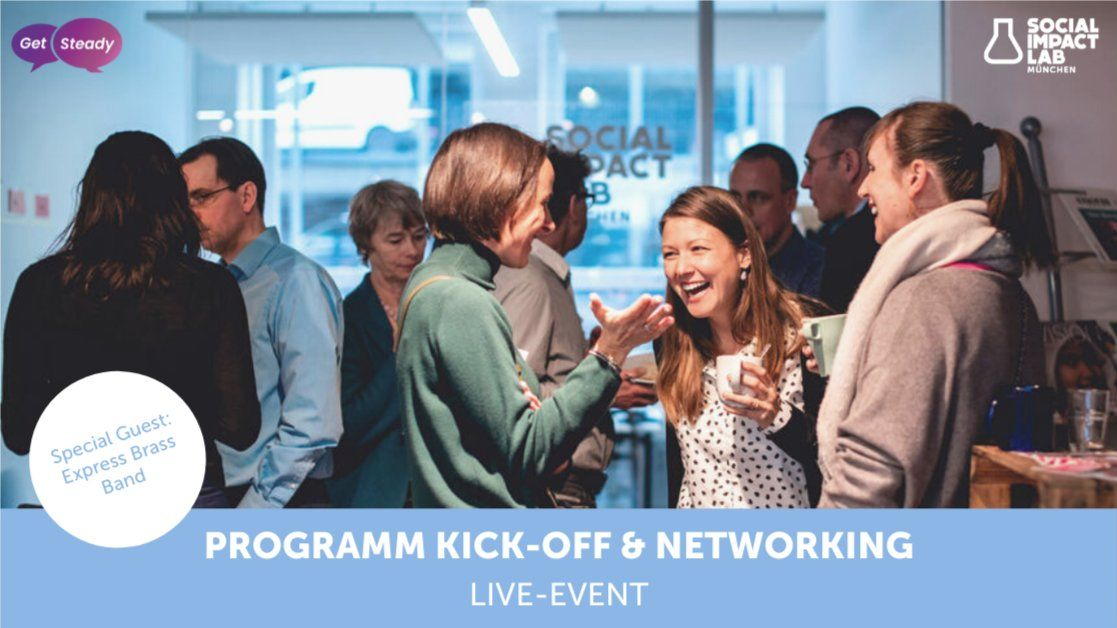 LIVE-EVENT: Programm Kick-Off & Networking