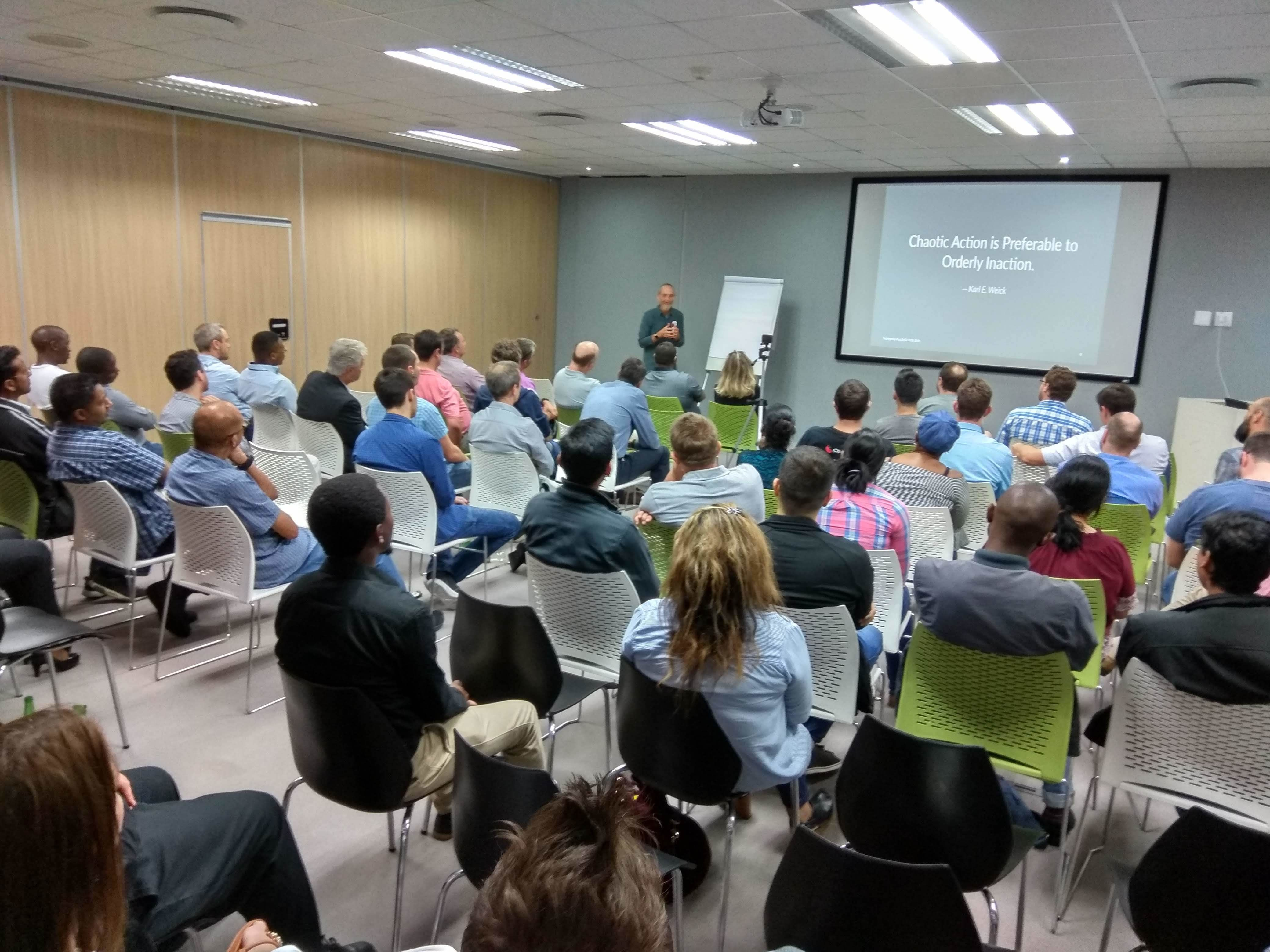 Durban Agile And Developer User Group Meetup