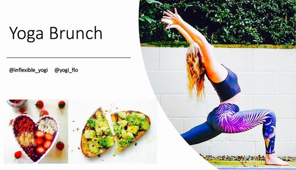 yoga brunch
