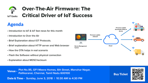 IoT Geeks - IoT with Arduino Over-The-Air Firmware | Meetup