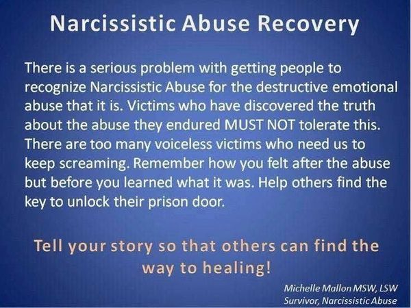 Image result for recovery narcissistic abuse