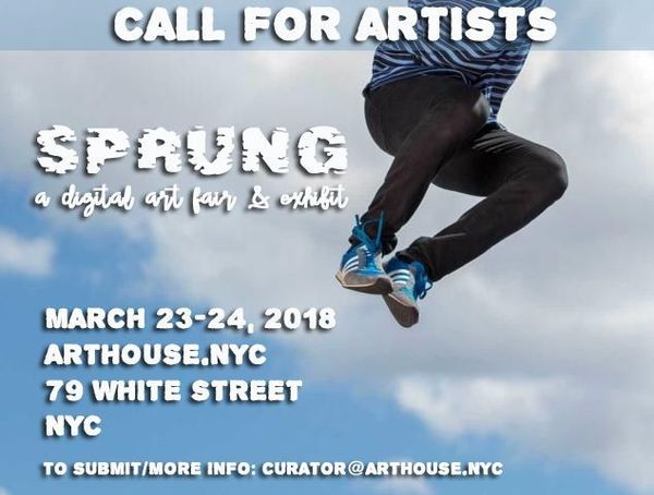 event in New York City: CALL FOR ARTISTS: SPRING DIGITAL PHOTOGRAPHY & ART FAIR