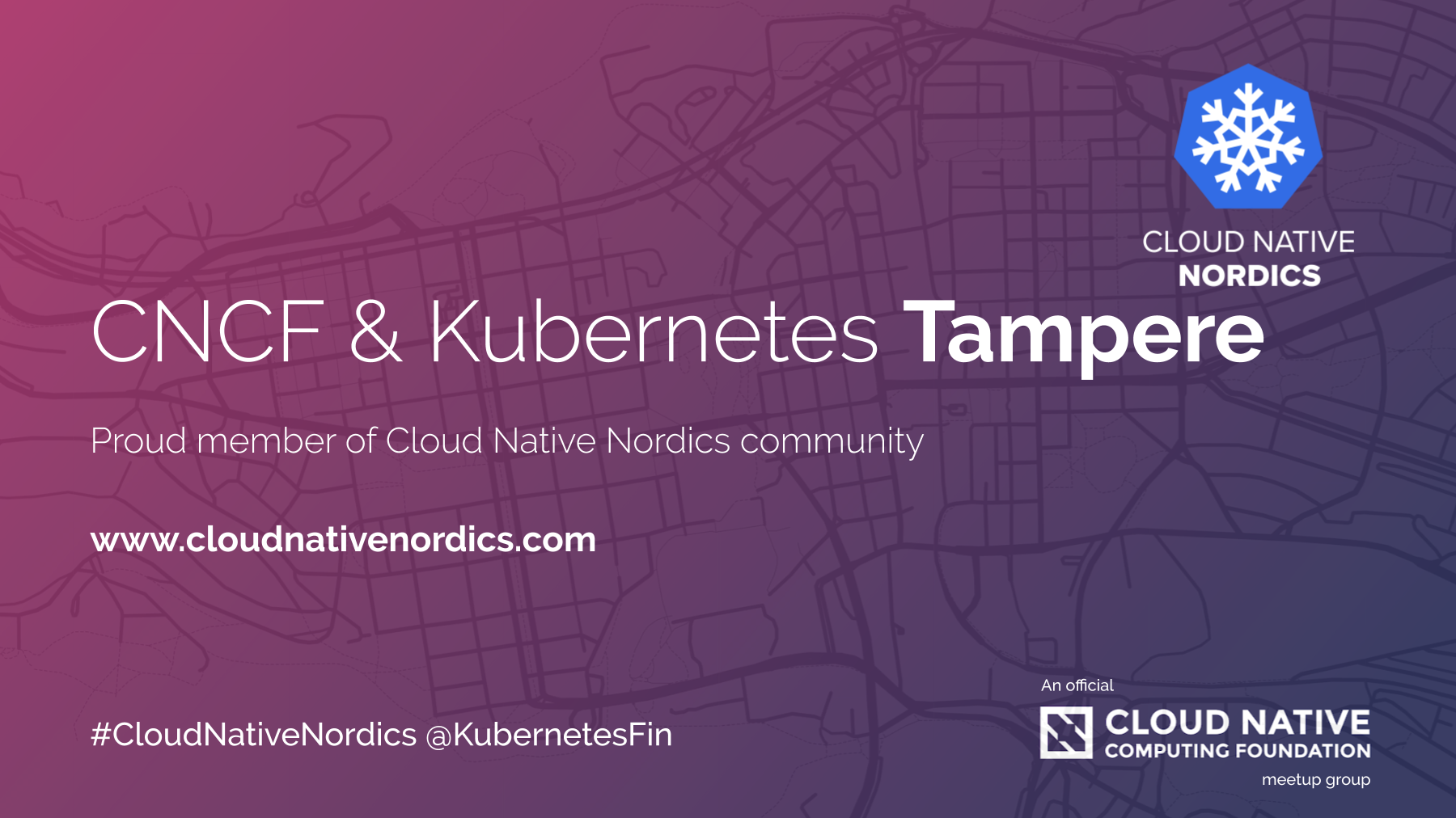 Kubernetes and CNCF Tampere Meetup