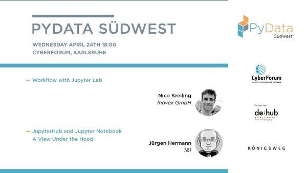 PyData Südwest April (Karlsruhe) | Meetup