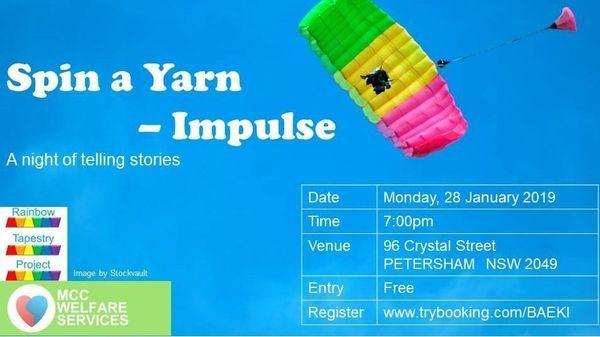 Spin a Yarn - Impulse | Meetup