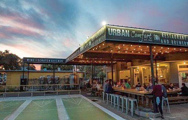 Urban Comfort Restaurant And Brewery St Petersburg Fl