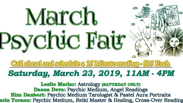 Psychic Fair At Book and Bead Outlet March 2019 | Meetup