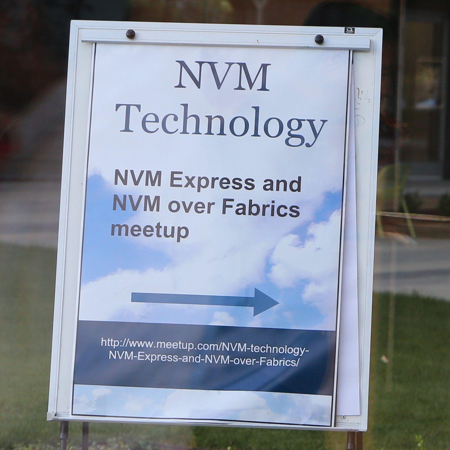 New Storage Technology- NVM Express/NVMe over Fabrics