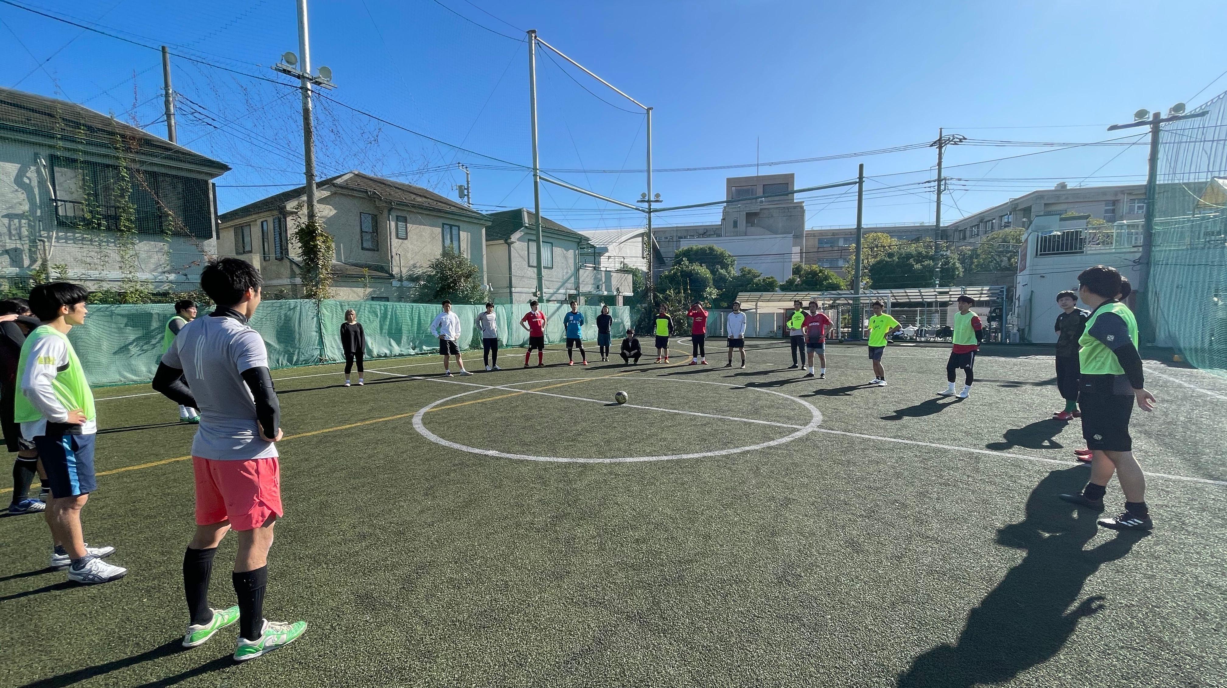 International Futsal Meetup @ Nerima