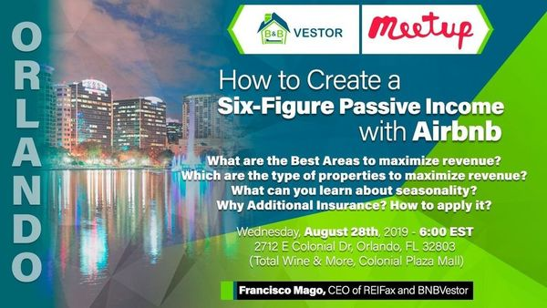 How to Create a Six-Figure Passive Income with Airbnb | Meetup