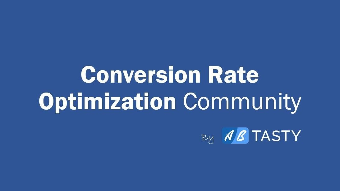 Conversion Rate Optimisation Meetup by AB Tasty