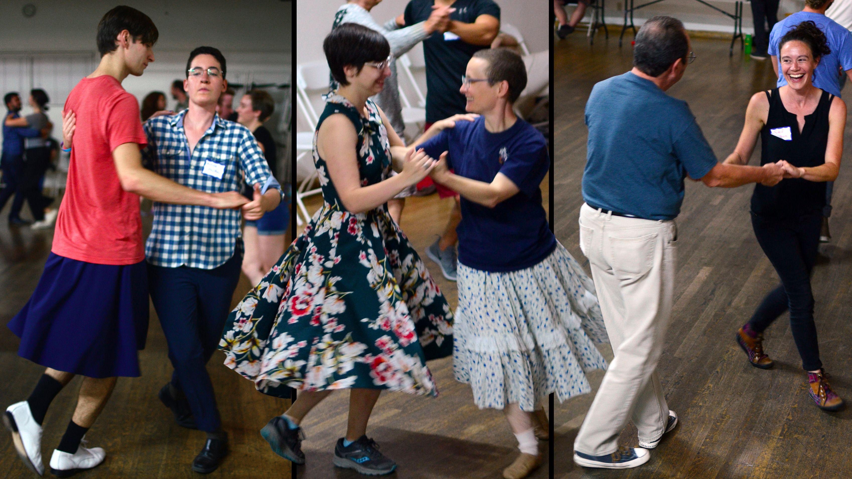 California Twirl: LA's gender-free contra dance