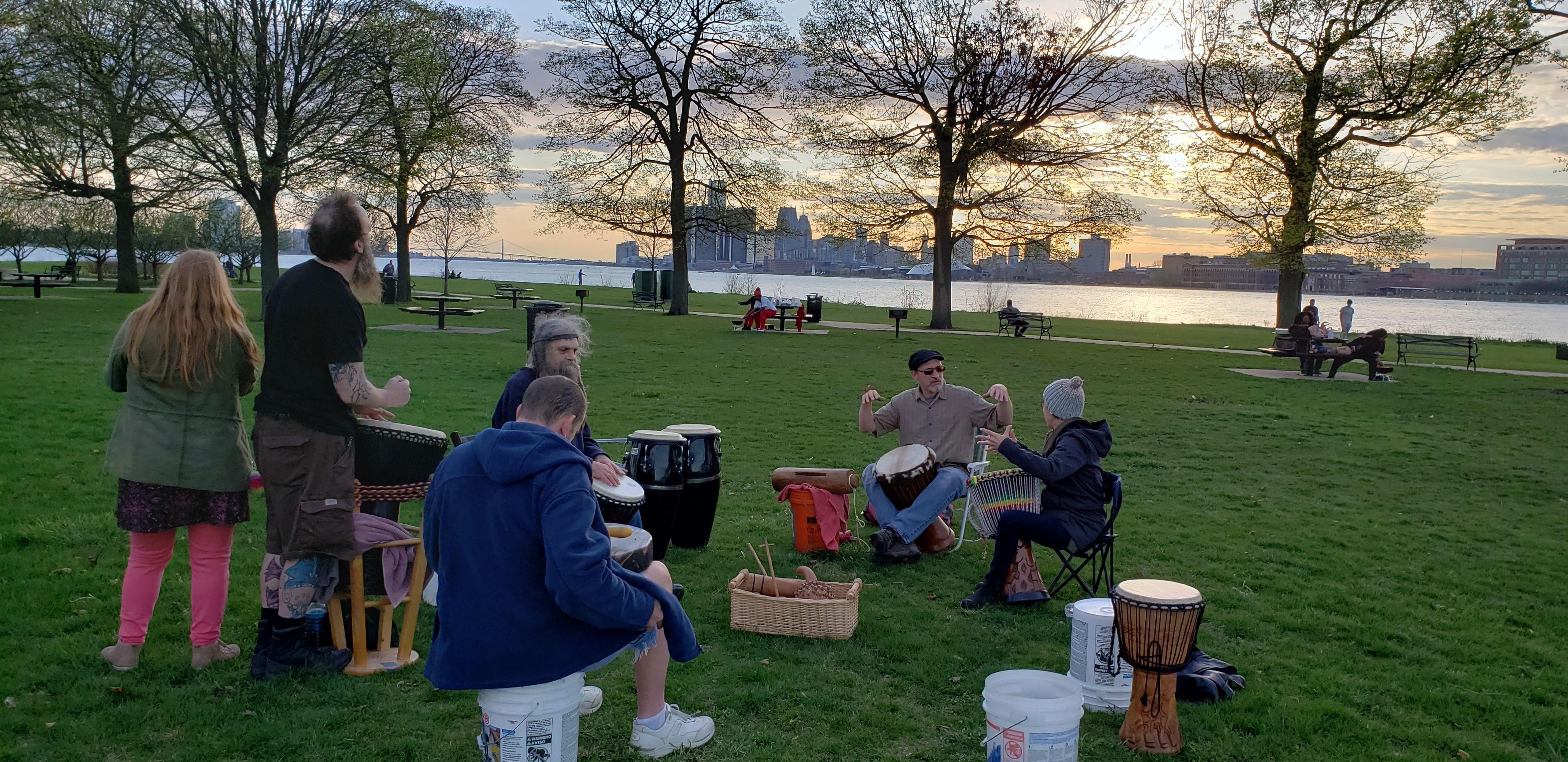 Detroit Community of Drummers Meetup