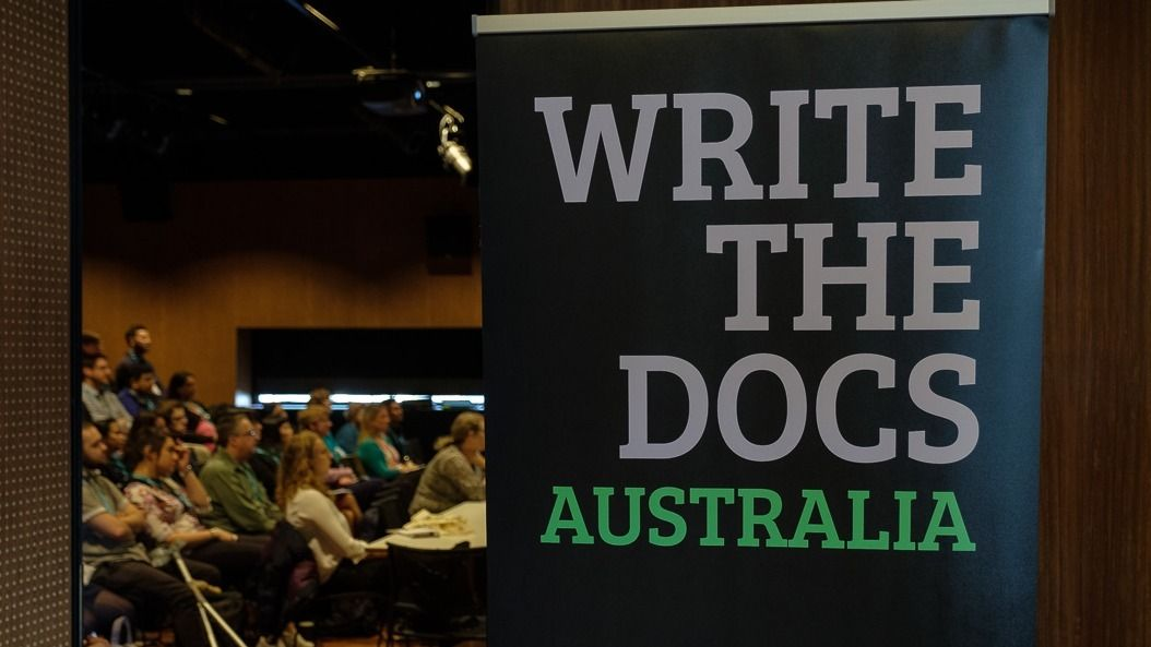 Write the Docs Australia