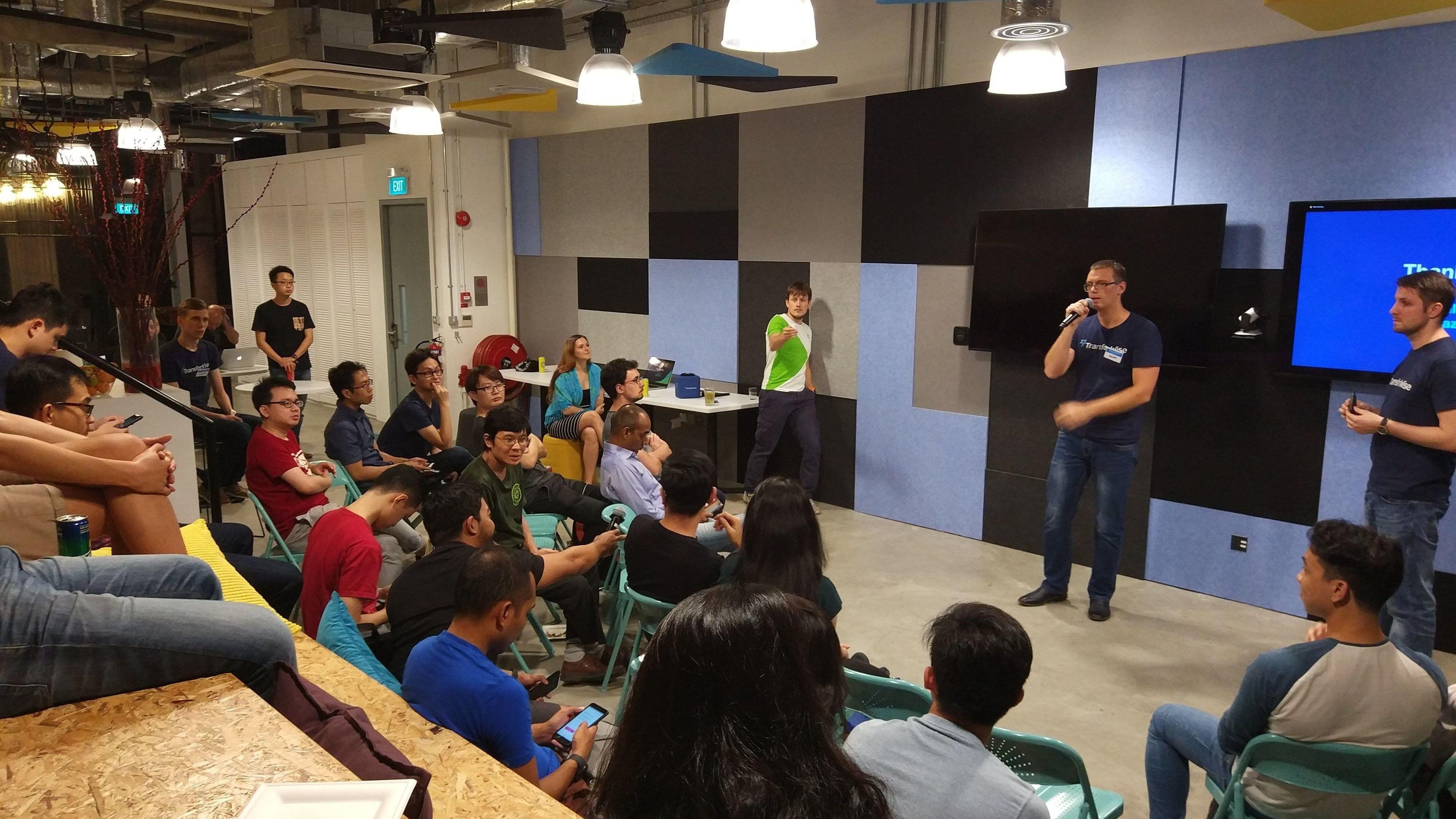 Tech Talks @TransferWise Singapore