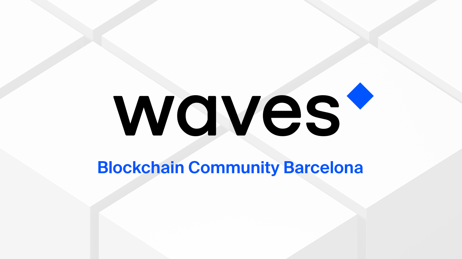 Waves Blockchain Community [Barcelona]