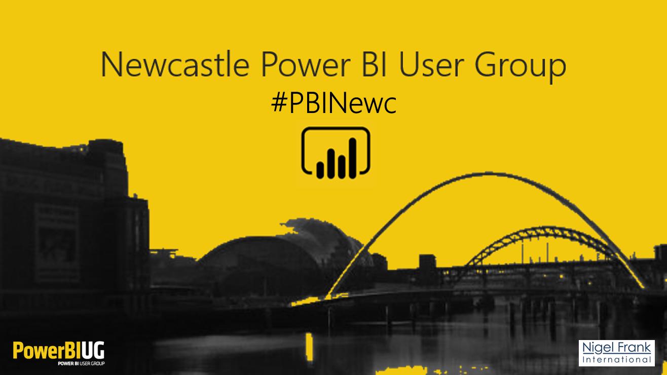 Newcastle Power BI User Group