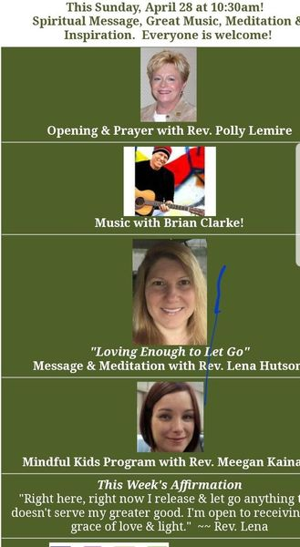The Mindful Spiritual Center Sunday Service | Meetup
