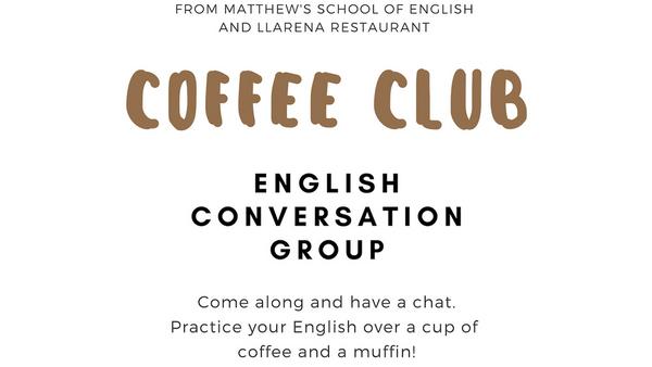 Coffee Club English Conversation Group in Orduña (Vitoria, Spain