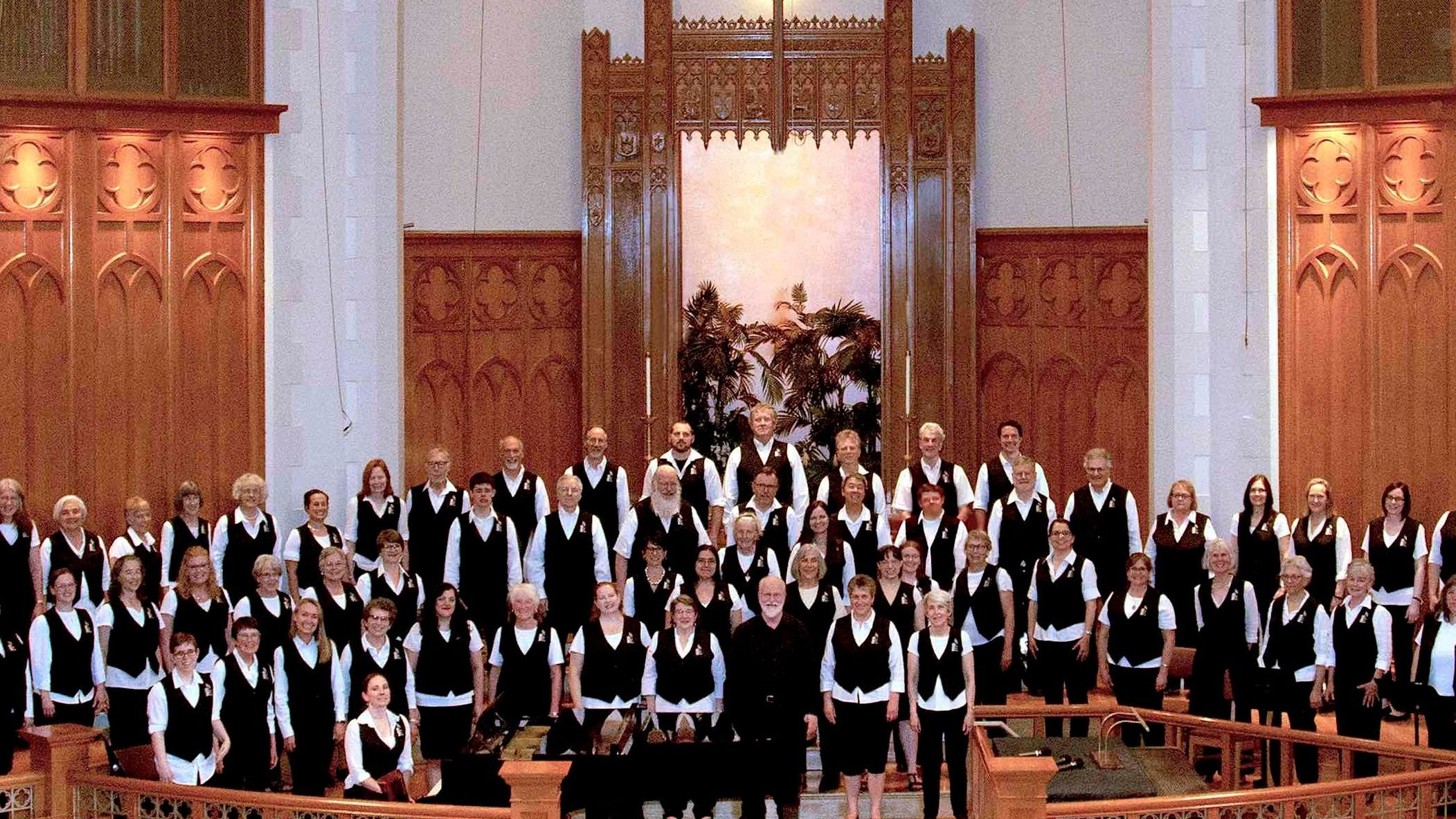 The Market Street Singers: a non-audition, mixed choir
