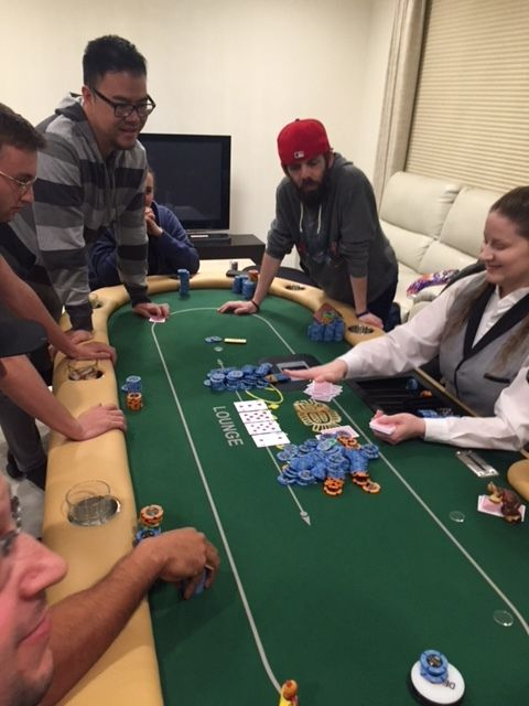 Tuesday - 100-300 (1/2 Blinds) No Limit Texas-Hold'em - 8:00pm